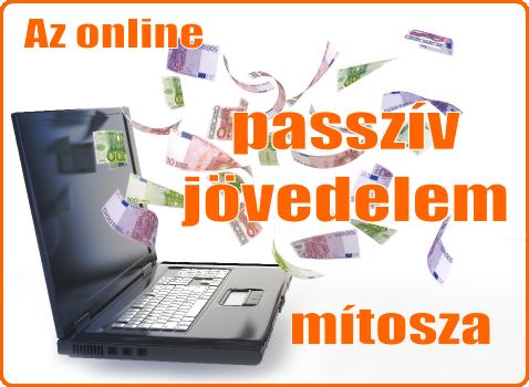 internetes üzleti passzív jövedelem