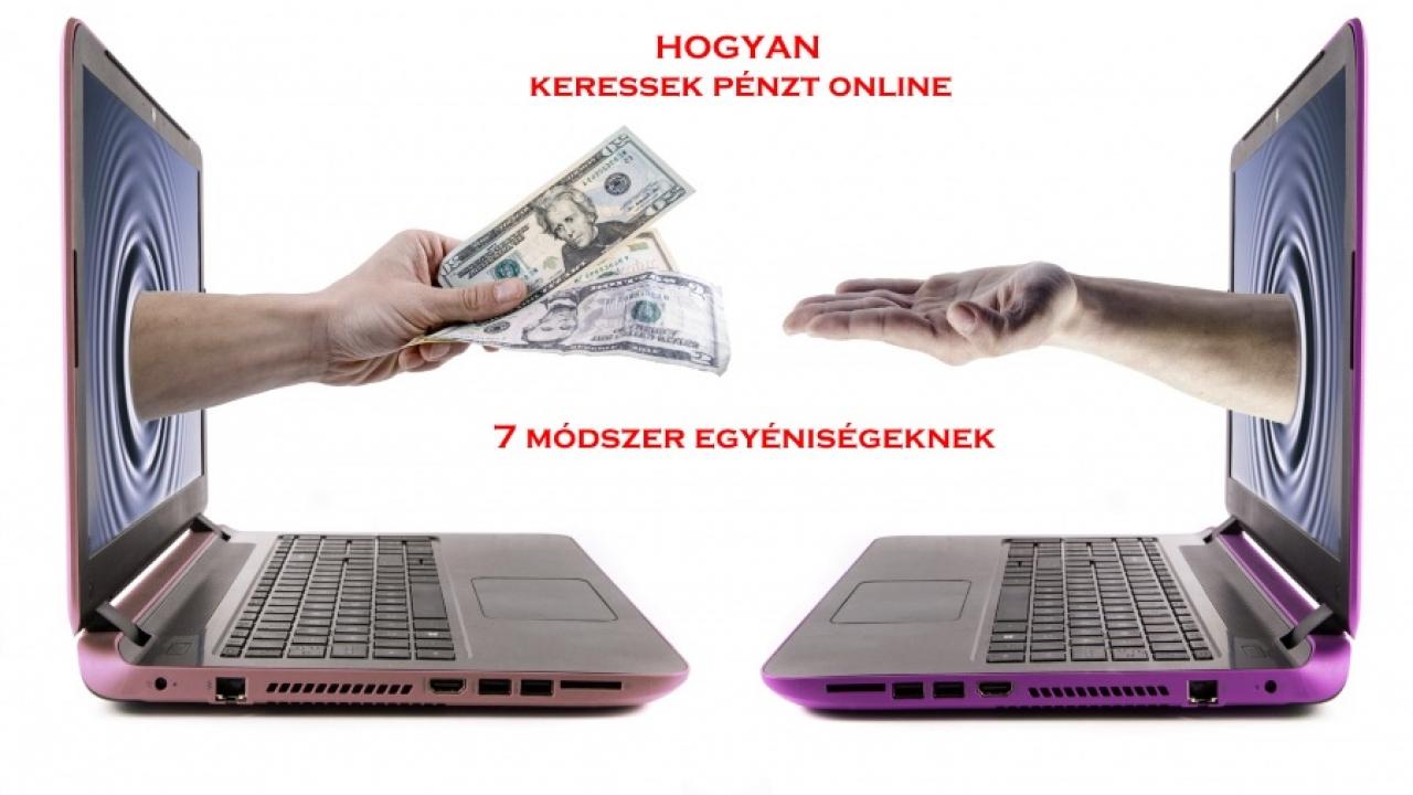 pénzt keresni az interneten számítógép segítségével