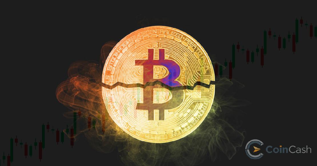 a bitcoin arányának csökkenése