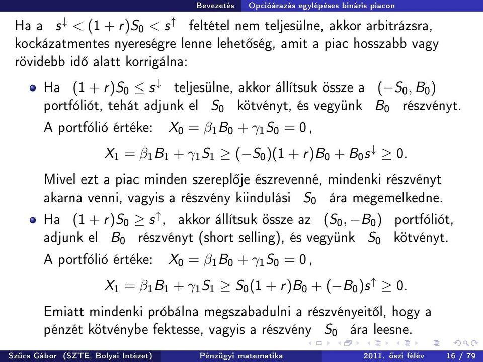 bináris opciótípusok