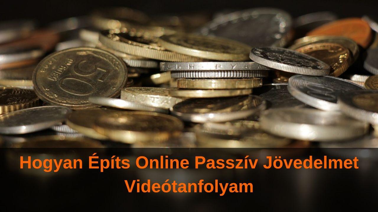 passzív kereset az interneten, pénzkivonással