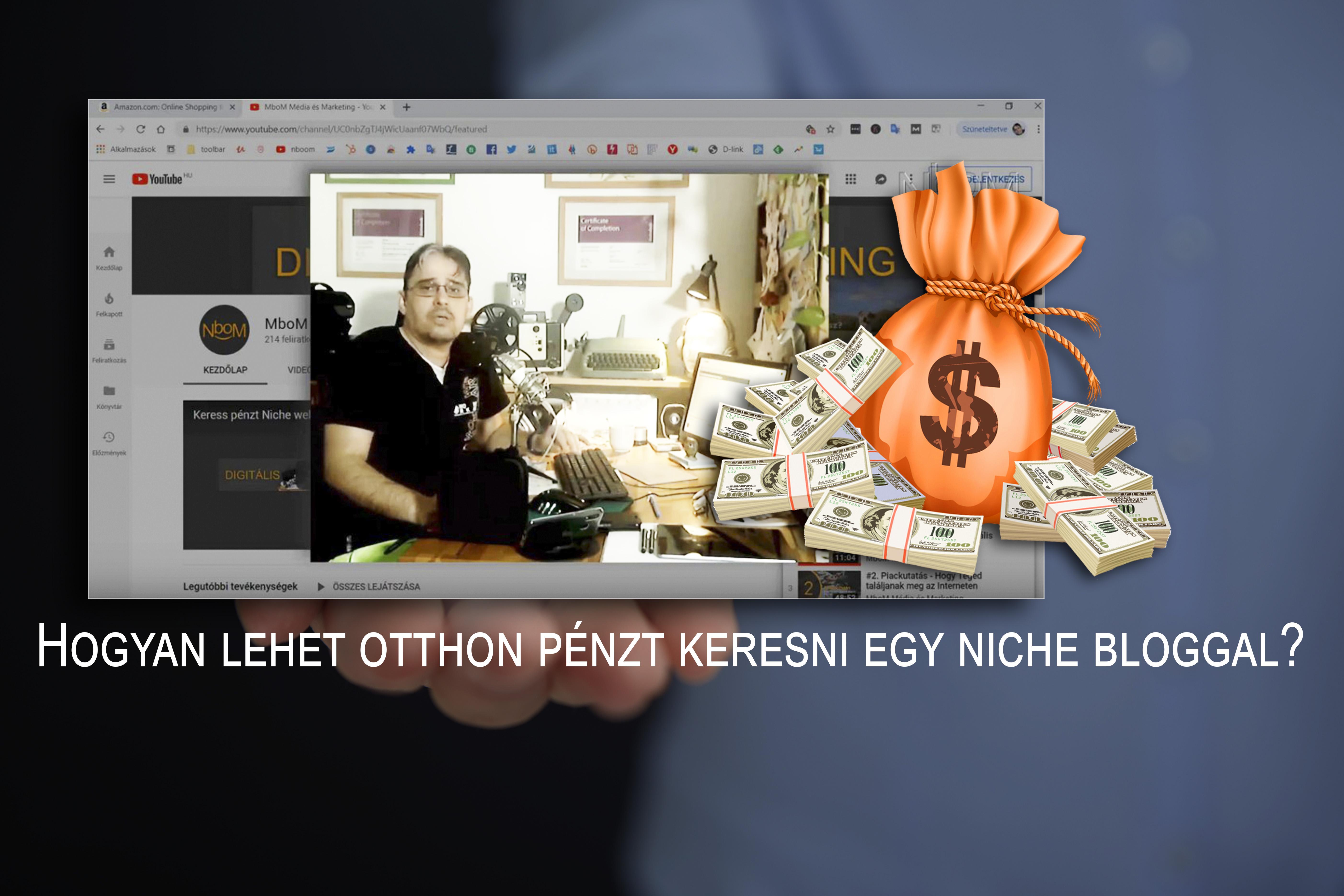 pénzt keresni a weboldal forgalmából